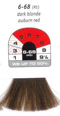 6-68 (R5)-Dark Blonde Auburn Red-Igora Royal 60g