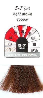5-7 (K4) Light Brown Copper-Igora Royal 60g