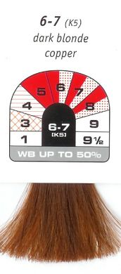 6-7 (K5)-Dark Blonde Copper-Igora Royal 60g
