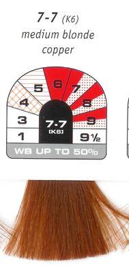 7-7 (K6)-Medium Blonde Copper-Igora Royal 60g