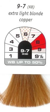 9-7 (K8)-Extra Light Blonde Copper-Igora Royal 60g