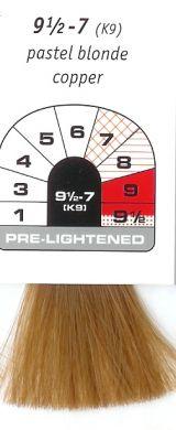 9 1/2-7 (K9)-Pastel Blonde Copper-Igora Royal 60g
