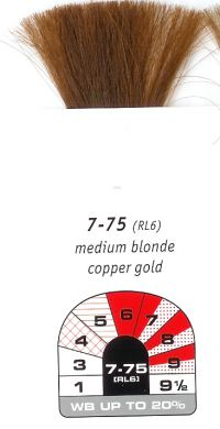 7-75 (RL6)-Medium Blonde Copper Gold-Igora Royal 60g