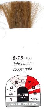 8-75 (RL7)-Light Blonde Copper Gold-Igora Royal 60g
