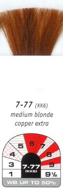7-77 (KK6)-Medium Blonde Copper Extra-Igora Royal 60g