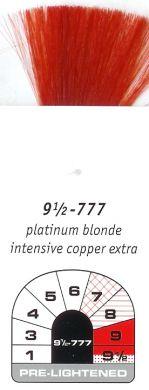 9 1/2-777-Platinum Blonde Intensive Copper Extra-Igora Royal 60g