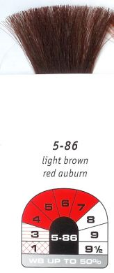 5-86-Light Brown Red Auburn-Igora Royal 60g