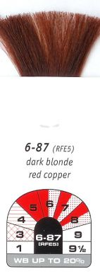 6-87 (RFE5)-Dark Blonde Red Copper-Igora Royal 60g