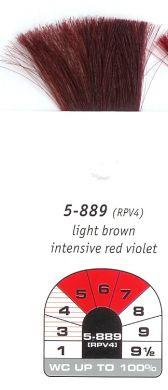 5-889 (RPV4)-Light Brown Intensive Red Violet- Igora Royal 60g
