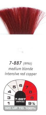 7-887(RPK6)-Medium Blonde Intensive Red Copper-Igora Royal 60g