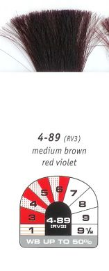 4-89 (RV3)-Medium Brown Red Violet-Igora Royal 60g