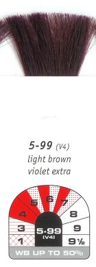 5-99 (V4)-Light Brown Violet Extra-Igora Royal 60g