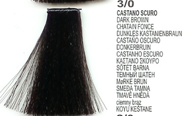 LK Creamcolor Natural 100ml 3/0 AA Dark Brown