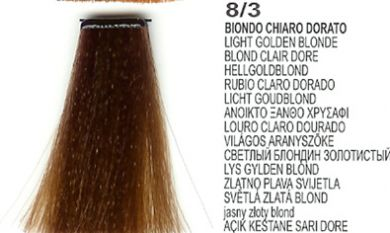 8/3 Light Golden Blonde(LK Creamcolor 100g)