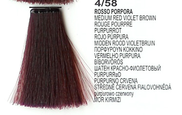 4/58 Medium Red Violet Brown (LK Creamcolor 100g)