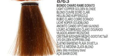 8/63 Light Copper Golden Blonde (LK Creamcolor 100g)