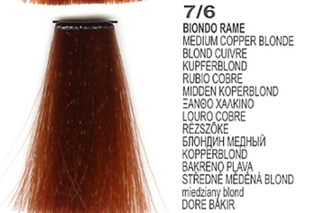 7/6 Medium Copper Blonde(LK Creamcolor 100g)