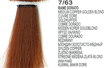 7/63 Medium Copper Golden Blonde (LK Creamcolor 100g)