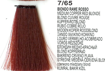 7/65 Medium Copper Red Blonde (LK Creamcolor 100g)