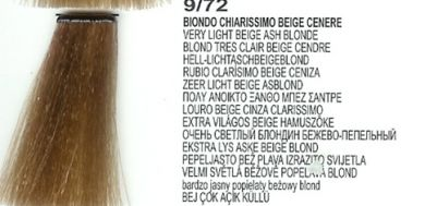 9/72 Very Light Beige Ash Blonde (LK Creamcolor 100g)