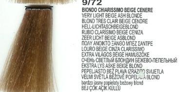 9/72 Very Light Beige Ash Blonde (LK Creamcolor 100g)