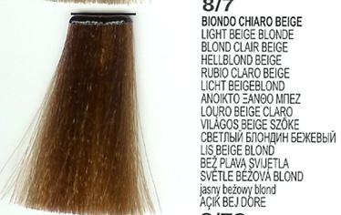 8/7 Light Beige Blonde (LK Creamcolor 100g)