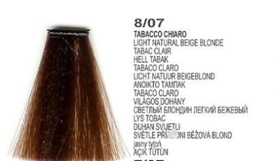 8/07 Light Natural Beige Blonde (LK Creamcolor 100g)