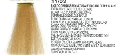 11/03 Extra Lightened Golden Blonde 7/566M Tropical Red (LK Creamcolor 100g)