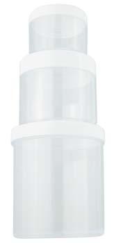 Plastic Jar with Cap 370g