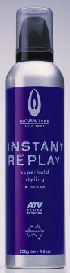 Natural Look ATV Instant Replay Superhold Styling Mousse 250g