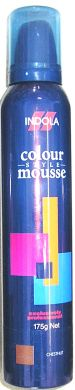 Indola Colour Mousse 175g-Chestnut