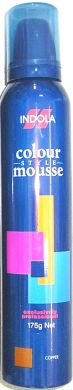 Indola Colour Mousse 175g-Copper