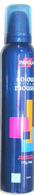Indola Colour Mousse 175g-Silver
