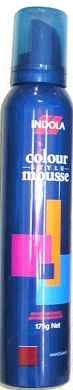 Indola Colour Mousse 175g-Mahogany