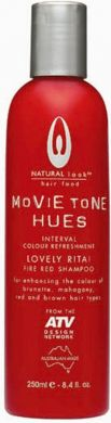 Movietone Hues-LOVELY RITA! Fire Red Shampoo 250ml