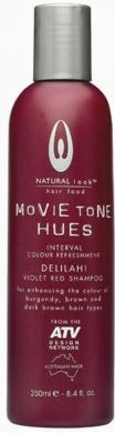 Movietone Hues-DELILAH! Violet Red Shampoo 250ml