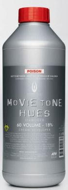 Movie Tone Hues Cream Developer 18%-60 Vol 1000ml