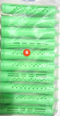 Perm Rods Bright Green (#4) 10/pack