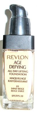 Revlon Age Defying All Day Lifting Foundation #03 Sand Beige