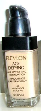Revlon Age Defying All Day Lifting Foundation #02 Nude Beige