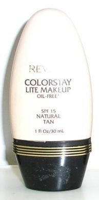 Revlon Colorstay Lite Make Up Oil Free 30ml SPF15-Natural Tan
