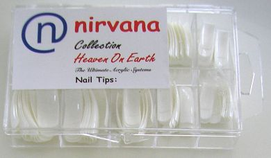 Nirvana Collection 100 Tips in a Tray-French Cut