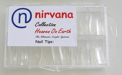 Nirvana Collection 100 Tips in a Tray-Clear