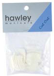 Hawley Nail Tips- Curved Cut Out 50/pack-Size#9