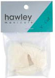 Hawley Nail Tips- V-Cut 50/pack-Size#1