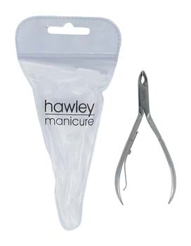 4003-Hawley One Arm Acrylic/Cuticle Nipper-5mm Jaw-Dual Purpose/High Grade Stainless Steel