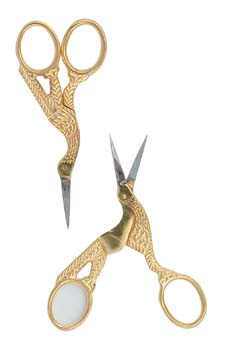 4004B-Hawley Gold Stork Scissors