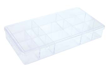 4007-PVC Nail Case-Clear (Holds 500)