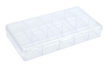 4008A- Empty PVC Nail Case-Clear (Holds 100)