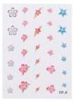 4023-TD8 Finger Nail & Toe Nail Stickers-30 Stickers